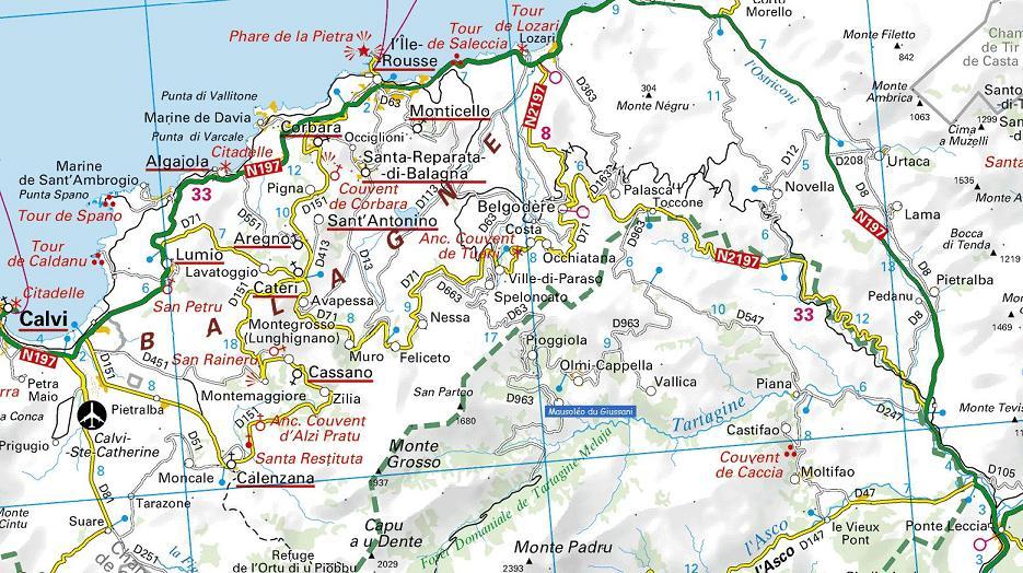 Carte Corse Nord.Situer Mausoleo Village De Haute Corse Vallee Du Giussani Forets